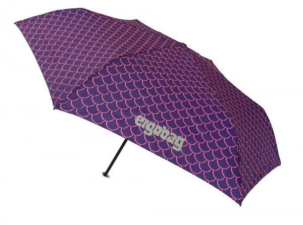 Ergobag Kinder Regenschirm PerlentauchBär mit Reflektor