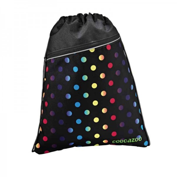 Coocazoo Sportbeutel Turnbeutel PocketRocket Magic Polka Colorful