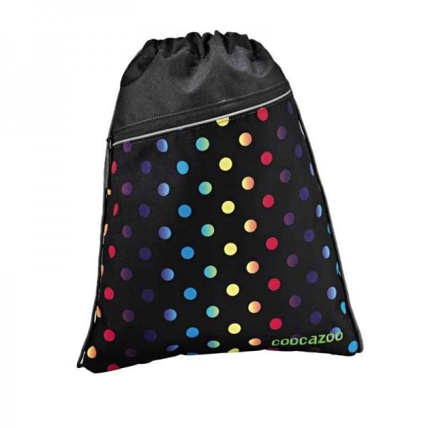 Coocazoo Sportbeutel Turnbeutel PocketRocket Magic Polka Colorful