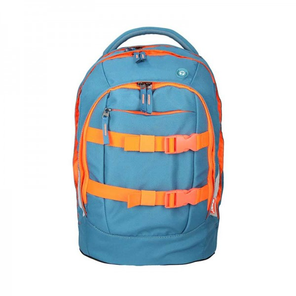 Spirit Schulrucksack Urban JumJum Blue Orange