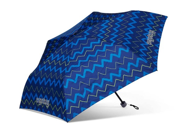 Ergobag Kinder Regenschirm FallrückziehBär mit Reflektor