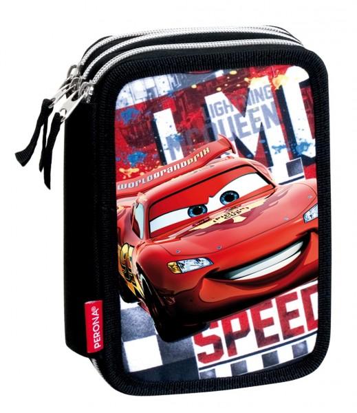 Federmäppchen 3-fach Disney Cars Acceleration