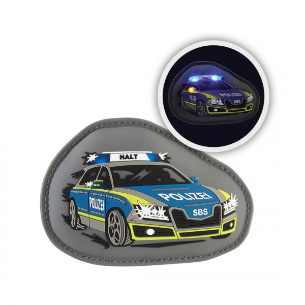 Step by Step Magic Mags Flash Police Alarm
