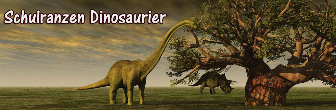 Schulranzen mit Dinos