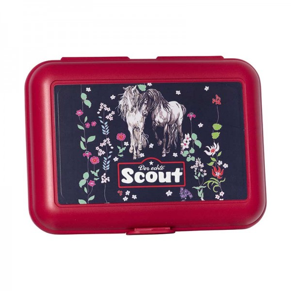 Scout Ess Box Brotdose Flower Horses