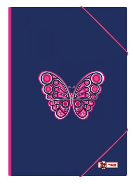 McNeill Gummizugmappe A3 Butterfly