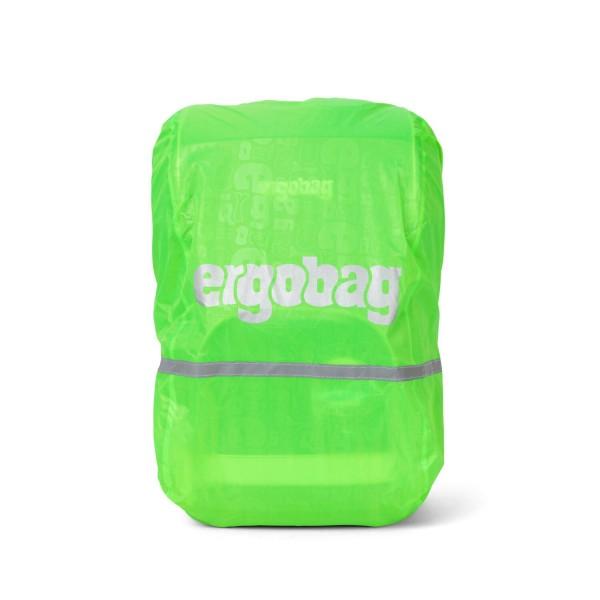 Ergobag Regenschutzhülle Regencape für Schulranzen, grün