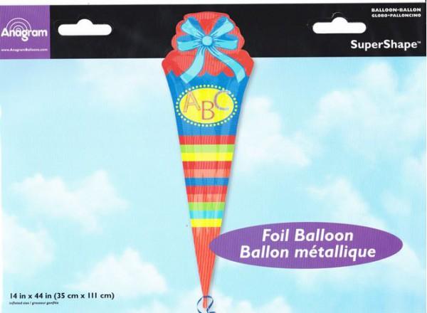 Schultüte als Folienballon