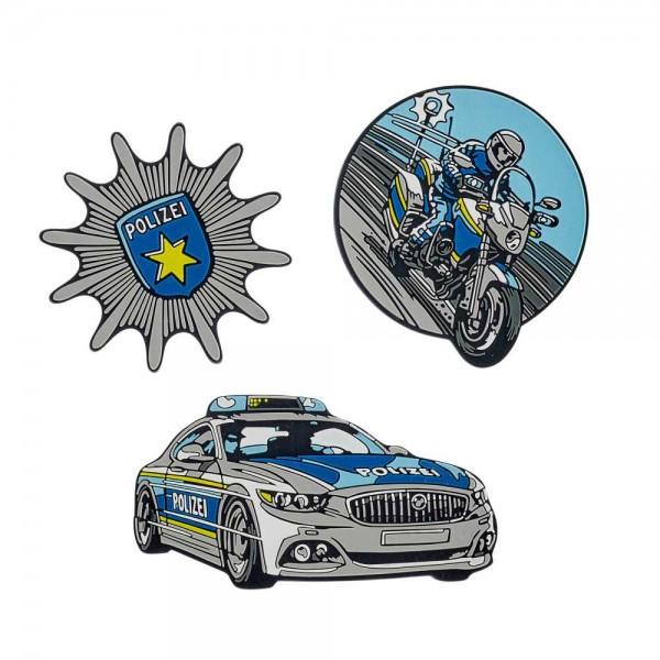 Scout Funny Snaps 3er-Set Blue Police