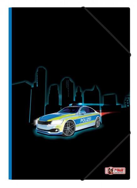 McNeill Gummizugmappe A4 Polizei