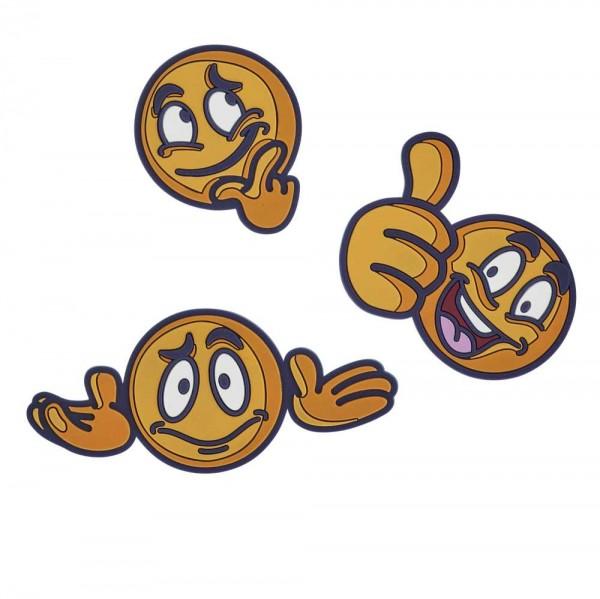 Scout Funny Snaps 3er-Set Emojis