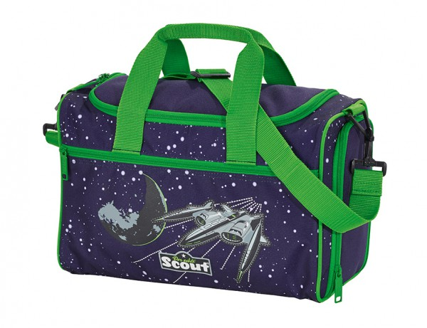 Scout Space Sporttasche Weltraum/Weltall-Motiv