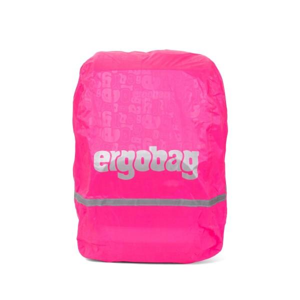 Ergobag Regenschutzhülle Regencape für Schulranzen, pink
