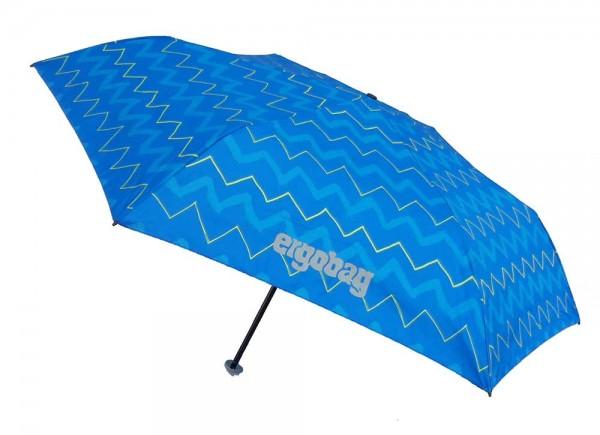 Ergobag Kinder Regenschirm LiBäro 2:0 mit Reflektor