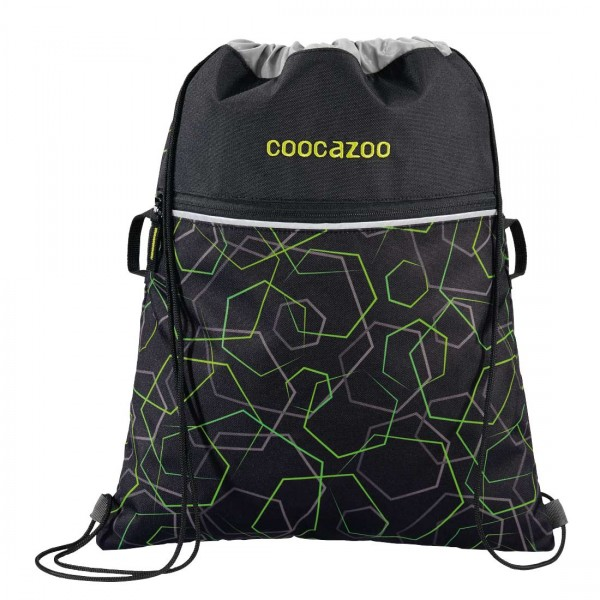 Coocazoo Sportbeutel Turnbeutel RocketPocket2 Laserbeam Black