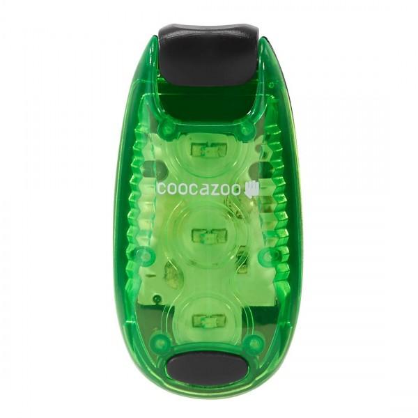 Coocazoo LED Sicherheits-Klemmleuchte / Blinklicht Grün