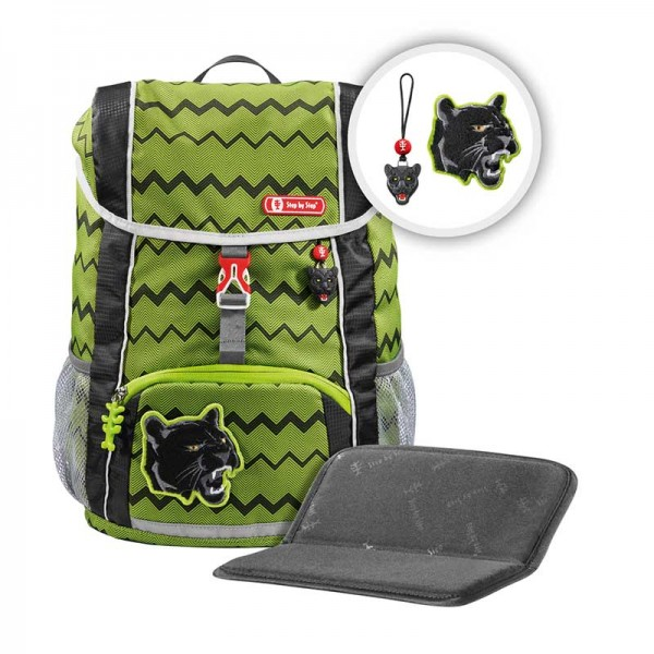 Step by Step KID Kindergartenrucksack-Set 3tlg. Wild Cat