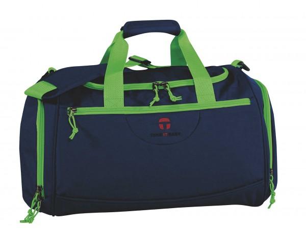 TAKE IT EASY Navy Green Sporttasche Rom