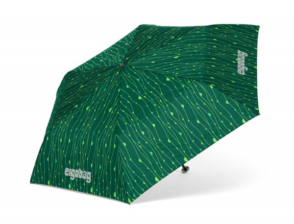 Ergobag Kinder Regenschirm RambazamBär mit Reflektor