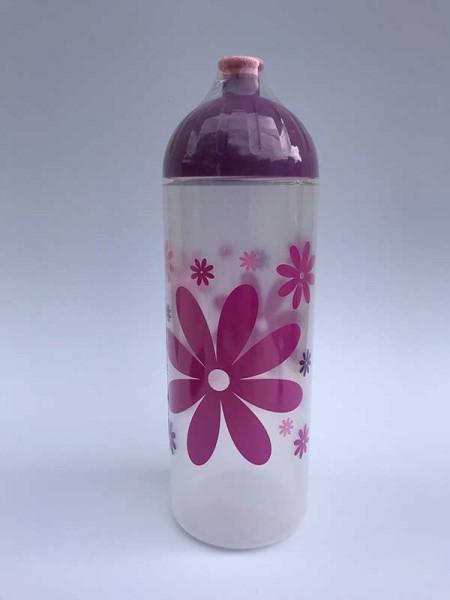 ISYbe Trinkflasche Blume, Volumen: 0,7L
