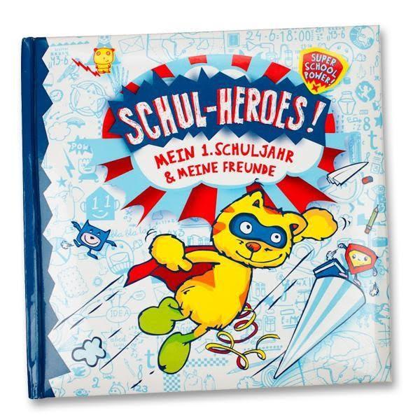 """Freundebuch """"Schul Heroes"""" - Mein erstes Schuljahr"""