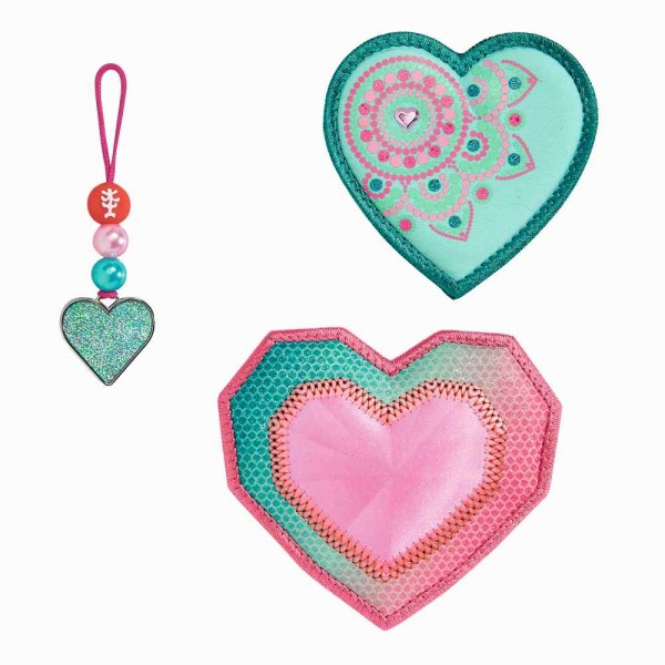 Step by Step Magic Mags Glitter Heart
