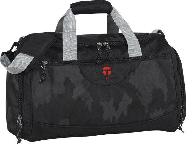 TAKE IT EASY Camouflage Black Sporttasche Rom