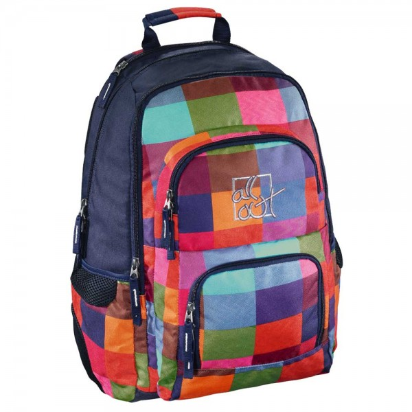All Out Rucksack Schulrucksack Louth Sunshine Check