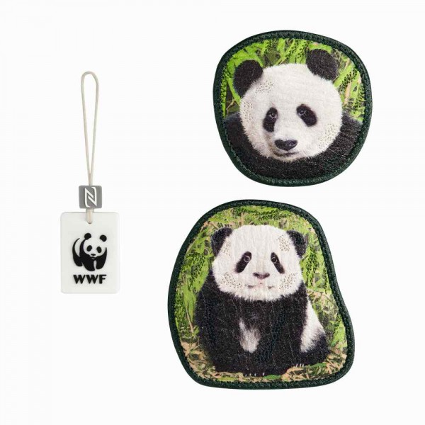 Step by Step Magic Mags WWF Little Panda
