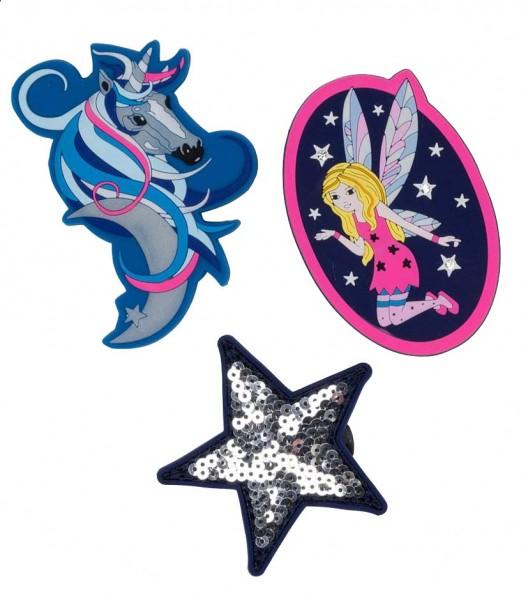 DerDieDas Buttons 3-teilig Blue Fairy