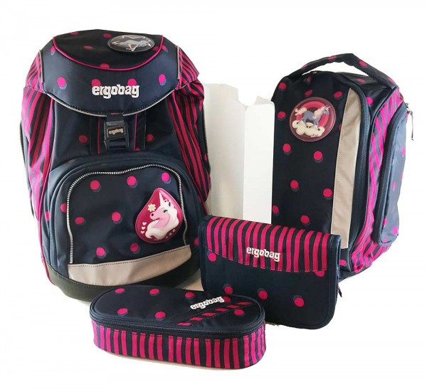 Ergobag Pack Schulrucksack Set 6-teilig SchubiDuBär